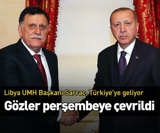 Son dakika: Libya UMH Başkanı Sarrac, Türkiye'ye geliyor!