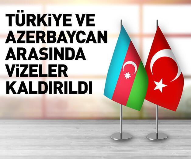 Son dakika: Azerbaycan'la vizeler karşılıklı olarak kaldırıldı