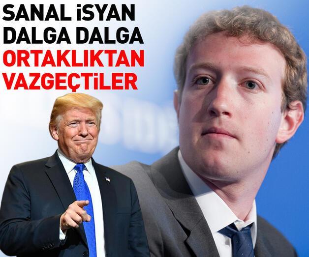 Son dakika: Zuckerberg'e protesto