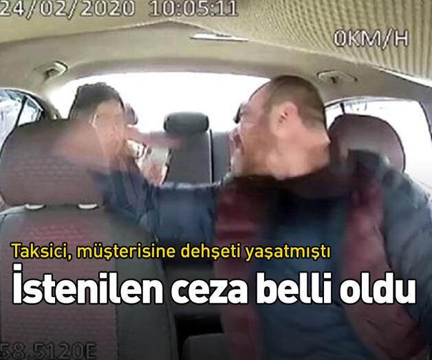 Son dakika: Taksici, müşterisine dehşeti yaşatmıştı!