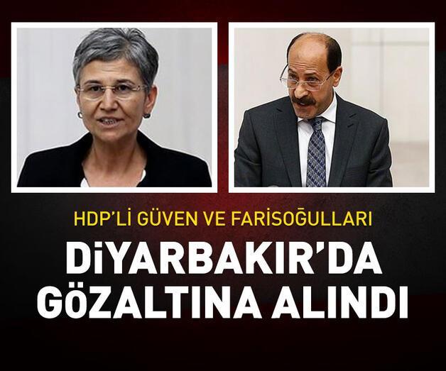 Son dakika: Milletvekillikleri düşürülen HDP'liler gözaltında