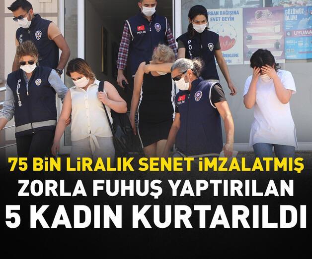 Son dakika: Antalya'da zorla fuhuş yaptırılan 5 kadın kurtarıldı
