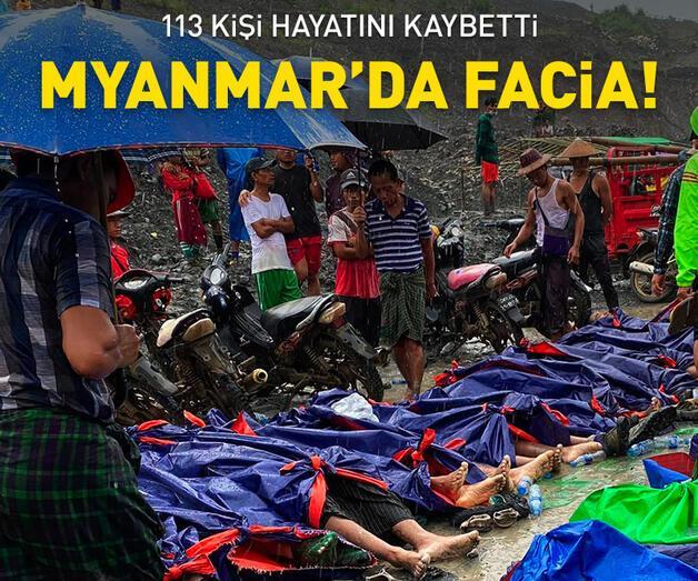 Son dakika: Myanmar'da facia: 113 ölü