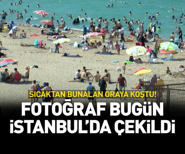 Son dakika: Fotoğraf bugün İstanbul'da çekildi