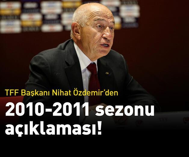 Son dakika: Nihat Özdemir: 2010-11 sezonu şampiyonu Fenerbahçe