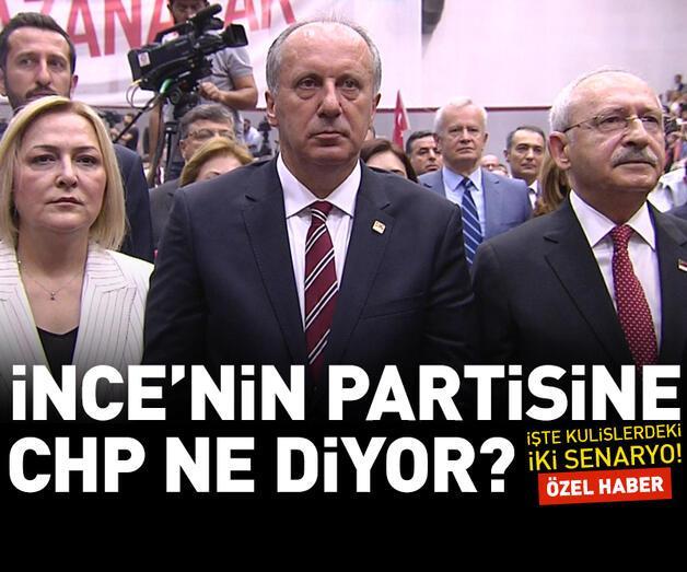 Son dakika: İnce'nin partisine CHP ne diyor?