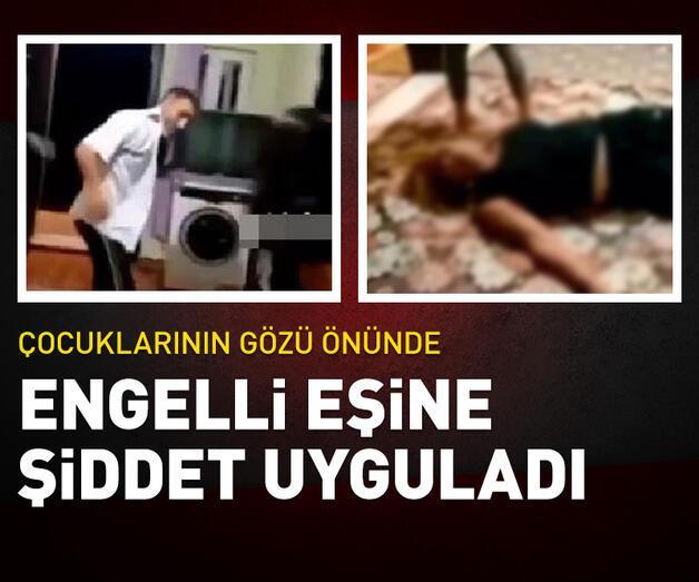 Son dakika: Son dakika... Babasının annesine uyguladığı şiddeti çekip, sosyal medyada paylaştı
