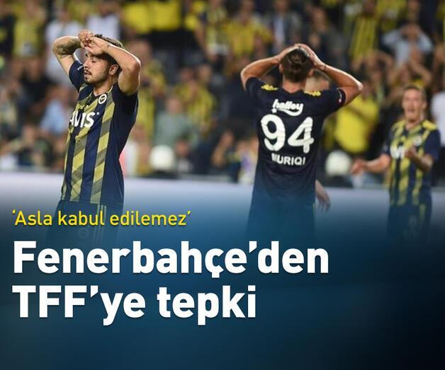 Son dakika: Fenerbahçe'den harcama limiti tepkisi