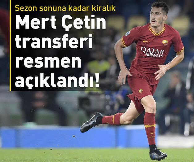 Son dakika: Mert Çetin transferi resmen açıklandı!