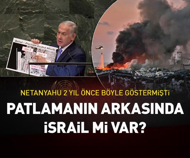 Son dakika: Patlamanın arkasında İsrail mi var?