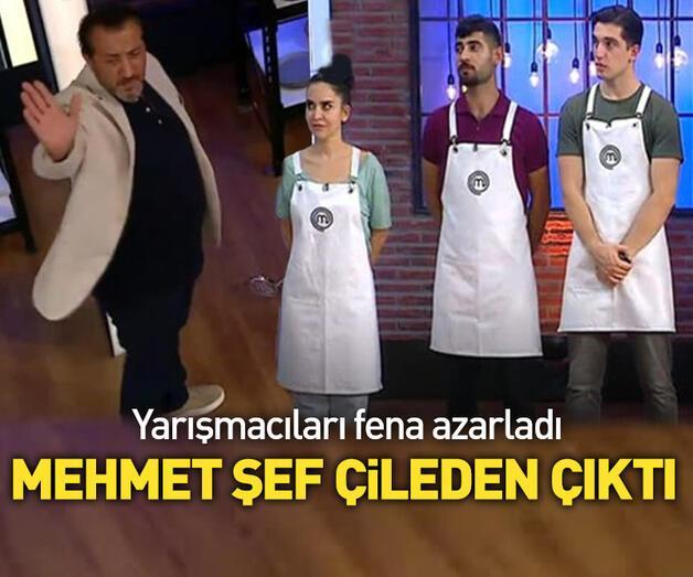 Son dakika: MasterChef'te Mehmet Yalçınkaya'yı delirten anlar!