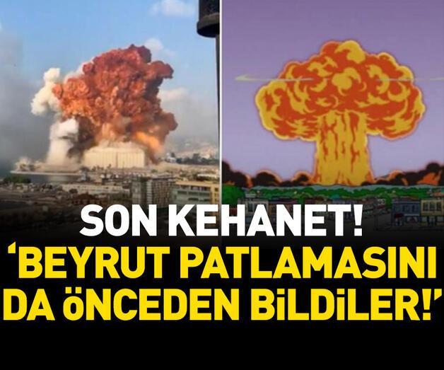 Son dakika: 'Beyrut patlamasını da önceden bildiler'