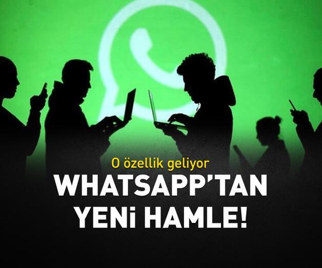 Son dakika: WhatsApp'tan yeni adım!