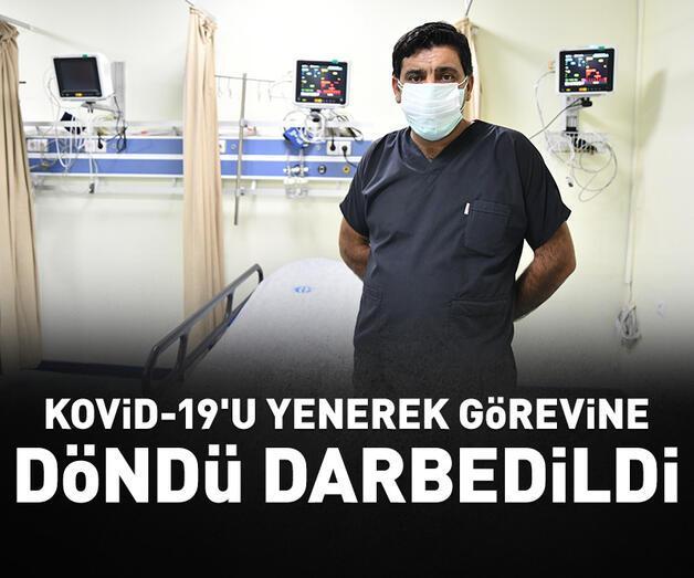 Son dakika: Kovid-19'u yenerek görevine dönen sağlık çalışanı darbedildi