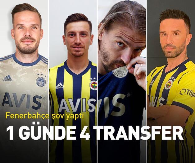 Son dakika: Fenerbahçe'den 4 transfer