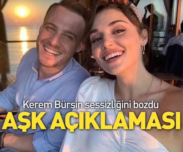 Son dakika: Kerem Bürsin, Hande Erçel ile aşk mı yaşıyor?
