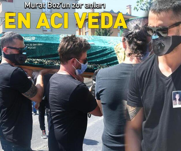 Son dakika: Murat Boz'un kuzeni Berrin Boz son yolculuğuna uğurlandı
