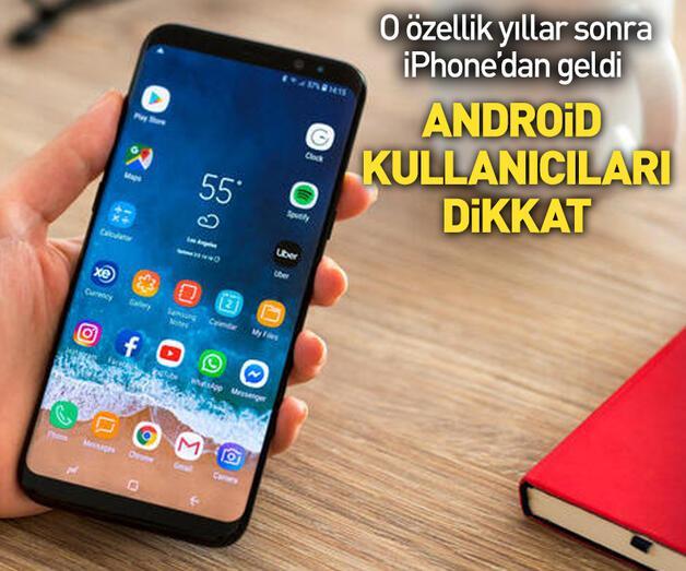 Son dakika: Android kullanıcıları dikkat!