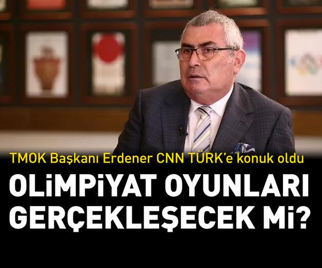 Son dakika: Olimpiyat Komitesi Başkanı Erdener CNN TÜRK'e açıklamalarda bulundu | Video