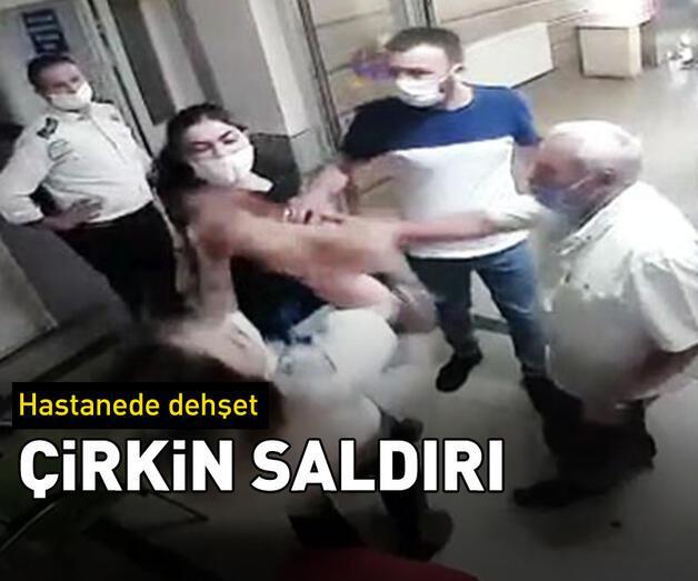 Son dakika: Hastanenin güvenlik görevlisine çirkin saldırı