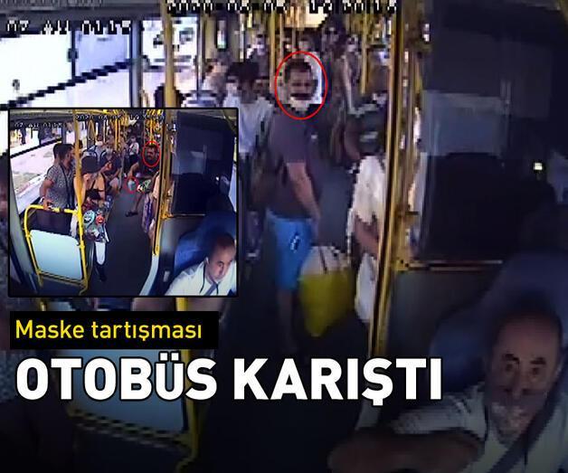 Son dakika: Otobüs karıştı