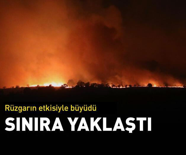 Son dakika: Türkiye sınırına yaklaştı