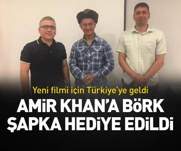 Son dakika: Amir Khan'a börk şapka hediye edildi