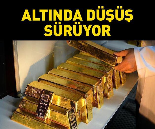 Son dakika: Gram altın fiyatları 440 liranın altında