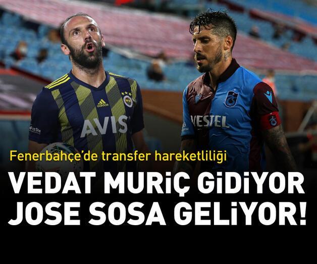 Son dakika: Vedat Muriç Lazio'ya, Jose Sosa Fenerbahçe'ye!