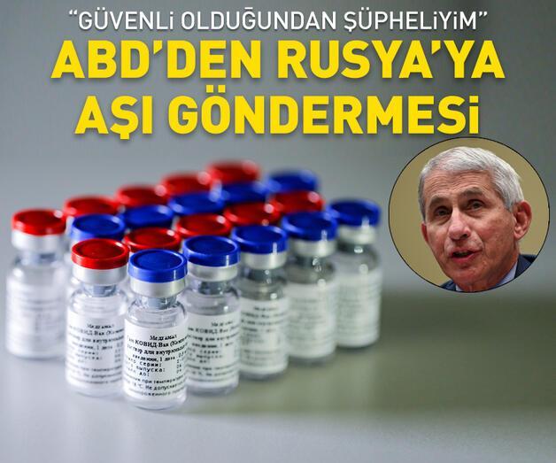 Son dakika: ABD'nin yetkili isminden Rusya'ya aşı göndermesi