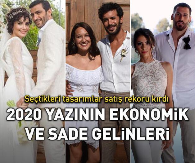 Son dakika: 2020 yazının ekonomik ve sade gelinleri!