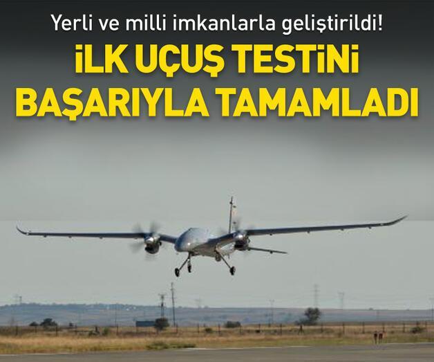 Son dakika: AKINCI TİHA ilk uçuş testini başarıyla tamamladı
