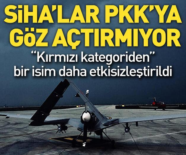 Son dakika: SİHA'lar PKK'ya göz açtırmıyor
