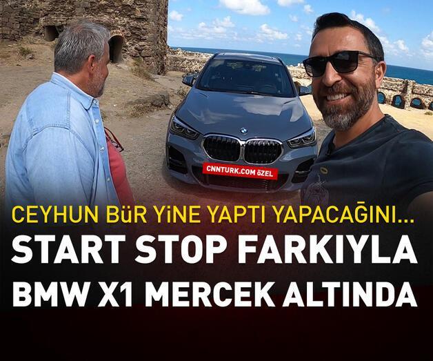 Son dakika: Start Stop farkıyla BMW X1 mercek altında