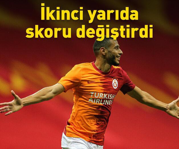 Son dakika: Galatasaray Hajduk Split'i 2 golle geçti