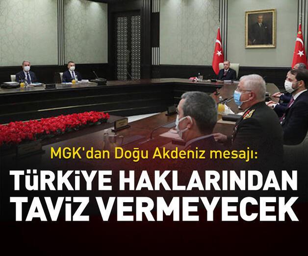 Son dakika: Türkiye haklarından taviz vermeyecek