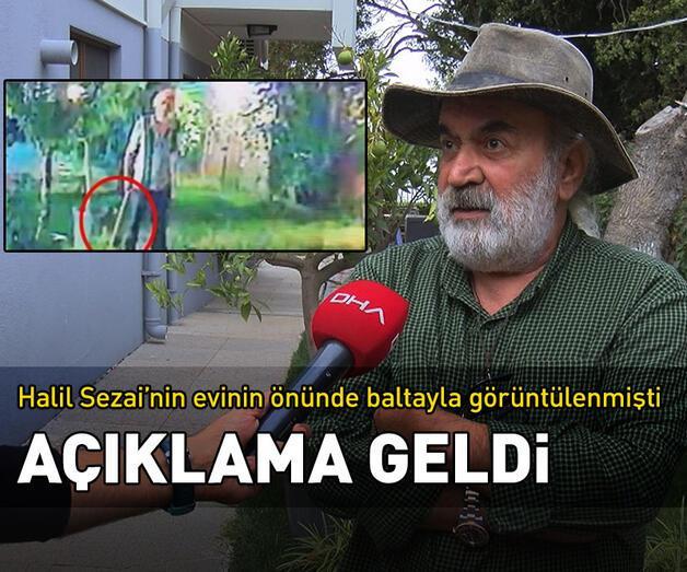 """Son dakika: Halil Sezai'nin dövdüğü kişiden """"balta"""" açıklaması"""