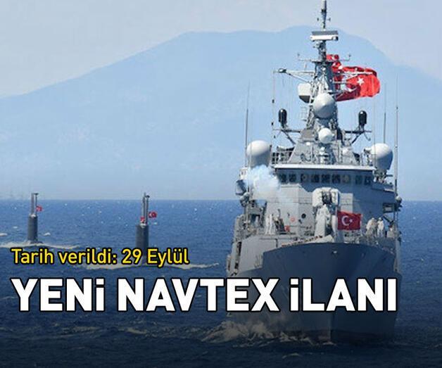 Son dakika: Türkiye'den yeni Navtex ilanı