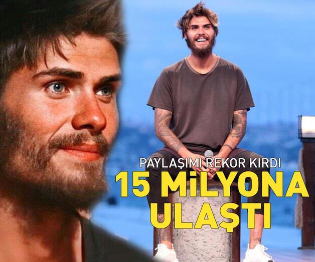 Son dakika: Survivor Barış'ın paylaşımı 15 milyona ulaştı