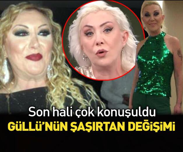 Son dakika: Şarkıcı Güllü'nün şaşırtan değişimi!
