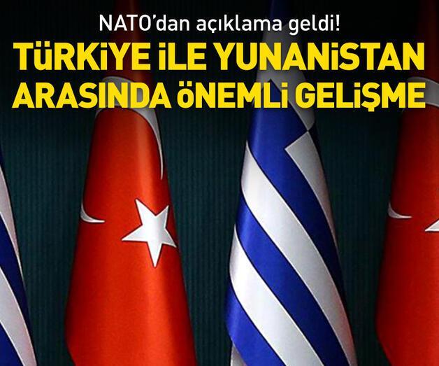 Son dakika: NATO: Türkiye ile Yunanistan arasında mekanizma kuruldu
