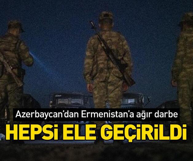 Son dakika: Azerbaycan'dan Ermenistan'a ağır darbe