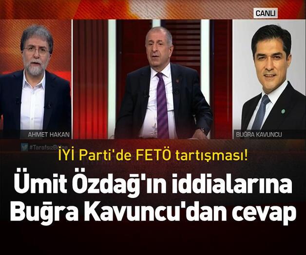 Son dakika: Ümit Özdağ'ın iddialarına Buğra Kavuncu'dan cevap