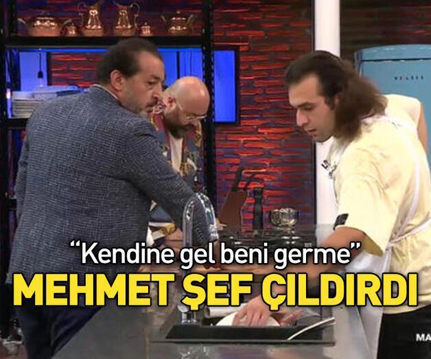 Son dakika: Mehmet Şef'ten Barbaros'a sert sözler