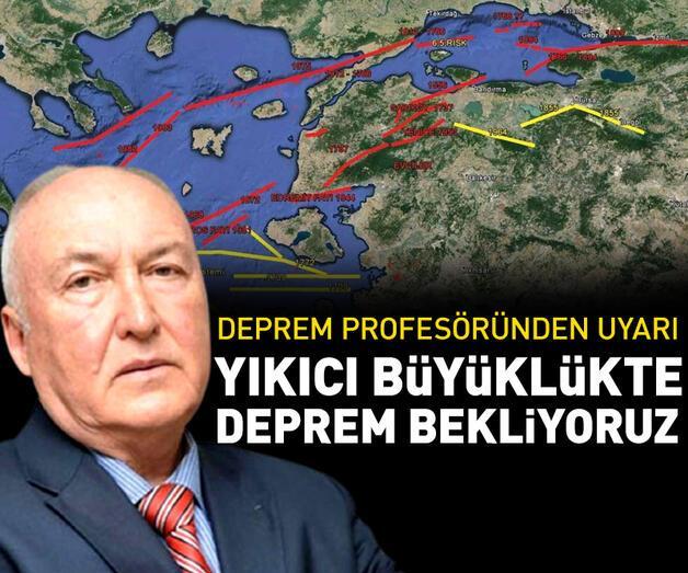 Son dakika: Kuzey Anadolu kırığının Ege kolu dirilik gösteriyor