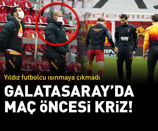 Son dakika: Galatasaray'da Feghouli krizi! Isınmaya çıkmadı