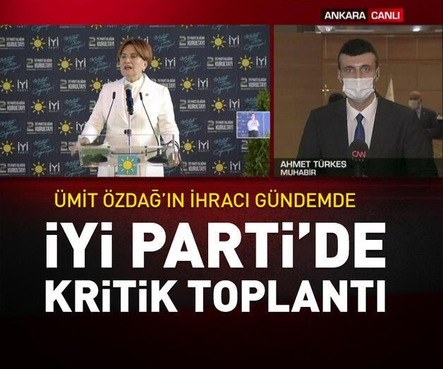 Son dakika: İYİ Parti'de kritik toplantı | Video
