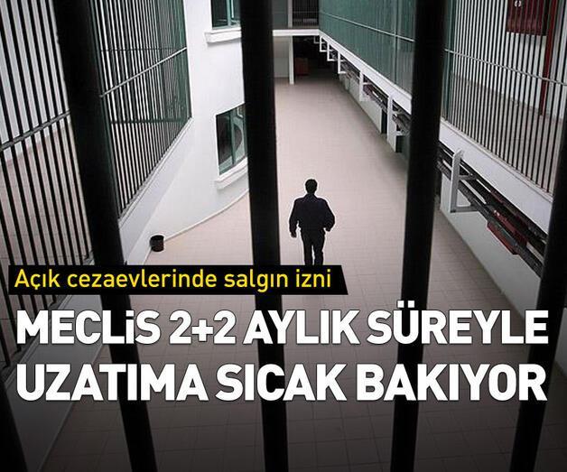 Son dakika: Açık cezaevlerinde salgın izniyle ilgili flaş açıklama