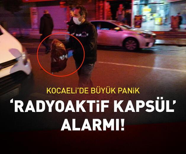 Son dakika: Kocaeli'de 'radyoaktif kapsül' alarmı