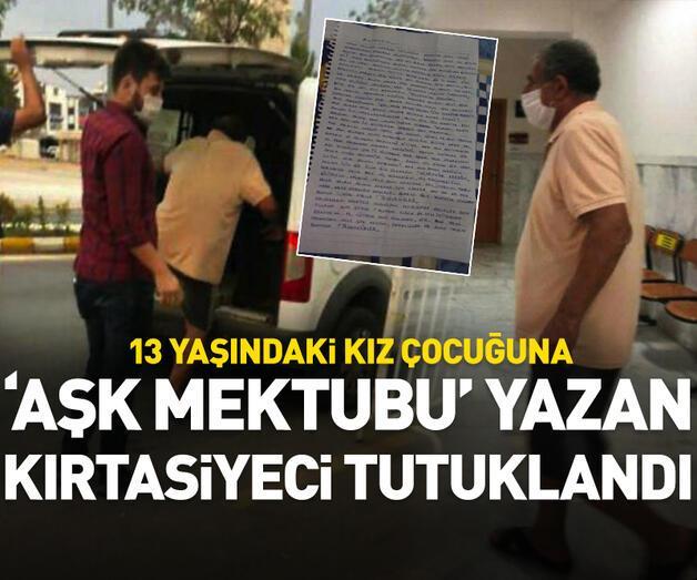 Son dakika: 'Aşk mektubu' yazan kırtasiyeci tutuklandı